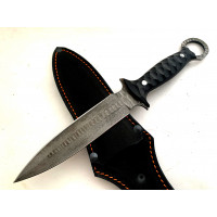 Цельнометаллический нож Каменный кинжал