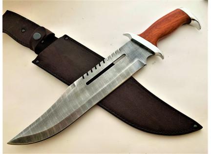 Нож Рэмбо. Дамаск. Падук