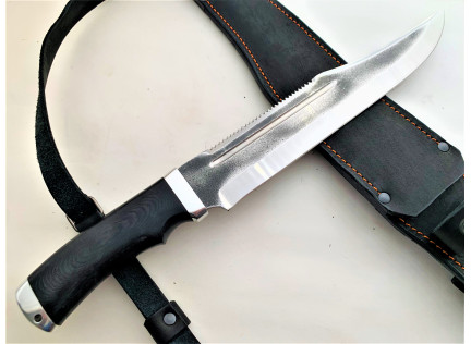Нож БОУИ-3 + Ножны за спину