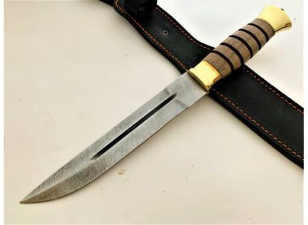 """Казачий нож """"Пластун"""". Дамаск"""