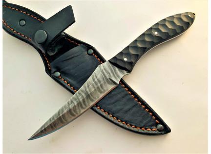 Нож ГЮРЗА-2. Дамаск