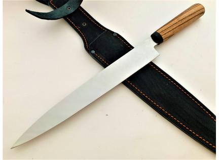 Нож ЯНАГИБА для сашими. Зебрано