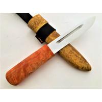 Нож ЯНТАРНЫЙ ЯКУТ 95х18