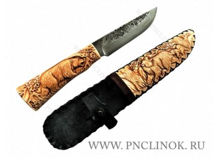 "Резной Нож ""Морж"""