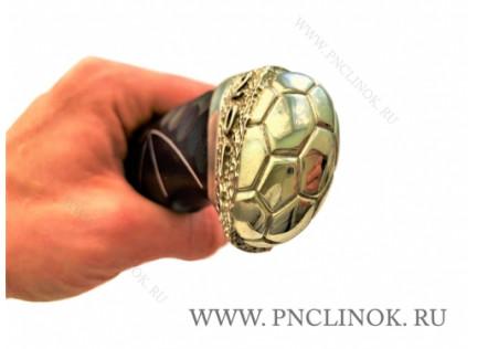 "Коллекционный нож ""Футбол-2018. Серебро"""