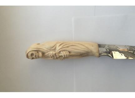 """Нож """"Коса и роза"""""""