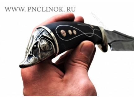 """Авторский нож """"Серебряный щукарь"""""""