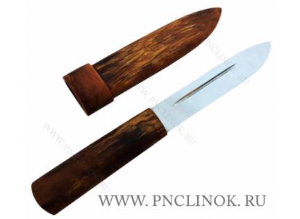Нож ЯНТАРНЫЙ ЯКУТ