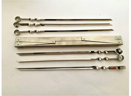 Набор шампуров с мангалом Н-10