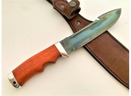 """Охотничий нож """"Тайга"""". Оксидирование"""