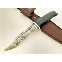 Нож Аллигатор-мини. 95Х18. Травление