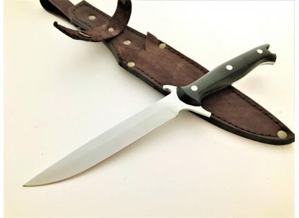 """Цельнометаллический нож """"ТАЙПАН"""". 95х18. Гравировка"""