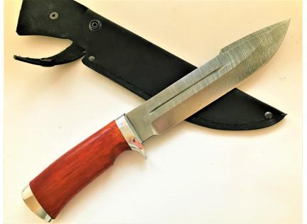 """Охотничий нож """"ТАЙГА"""". Дамаск"""